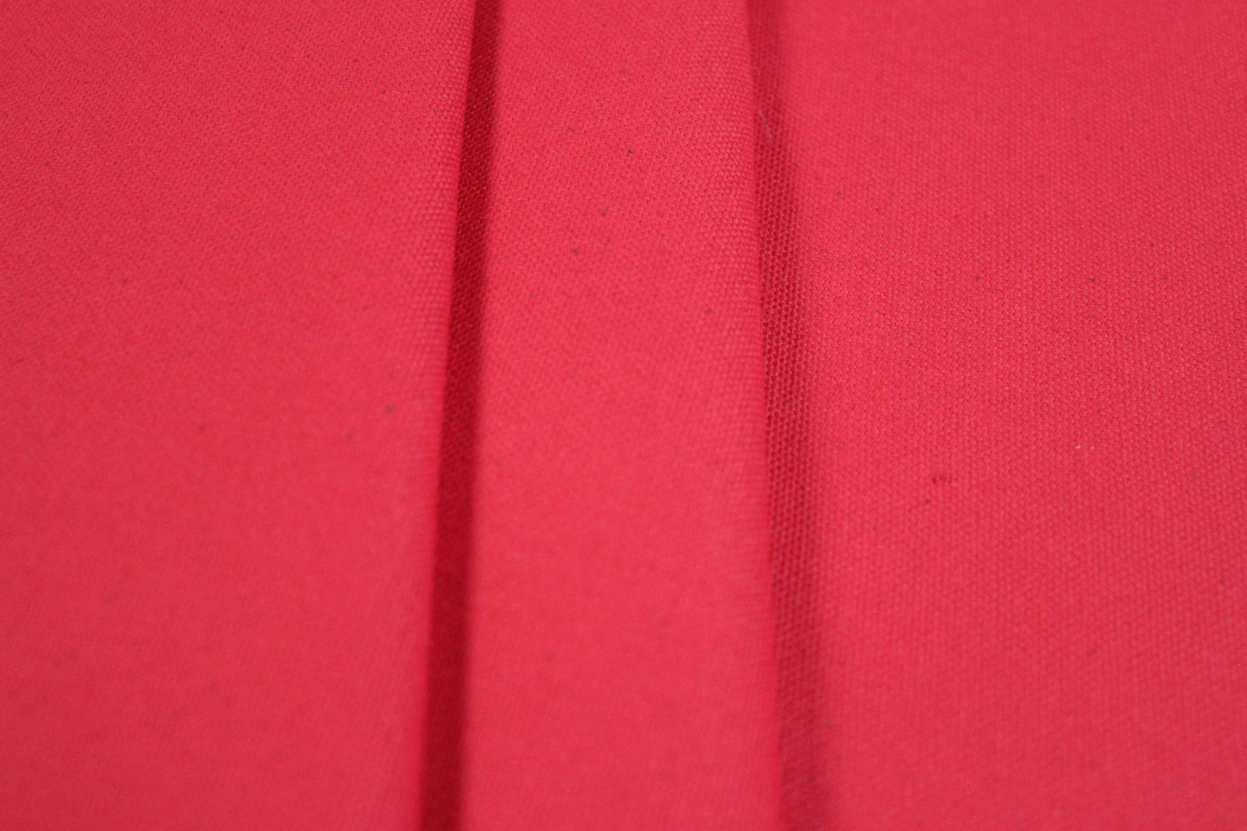 "118"" Red Voile Fabric By The Yard"