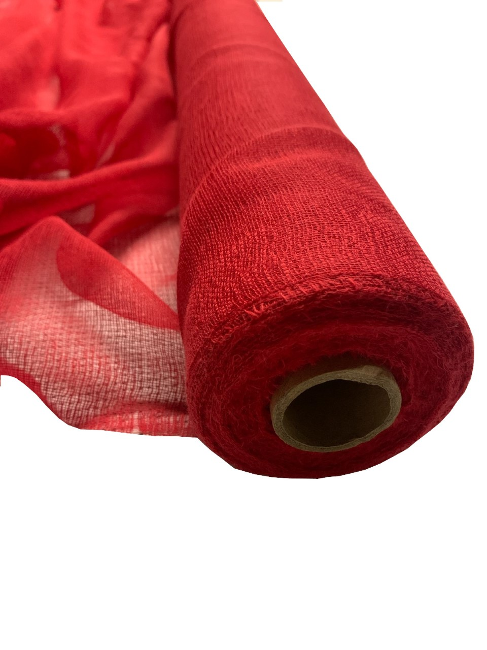 "36"" Wide Red Cheesecloth By The Yard - 100% Cotton"