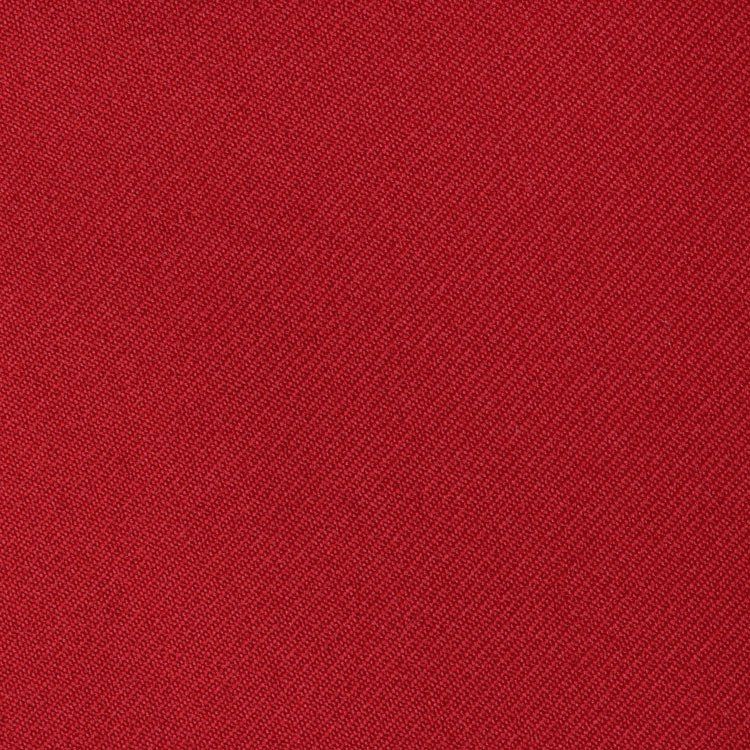 "59/60"" Red Gabardine Fabric By The Yard"