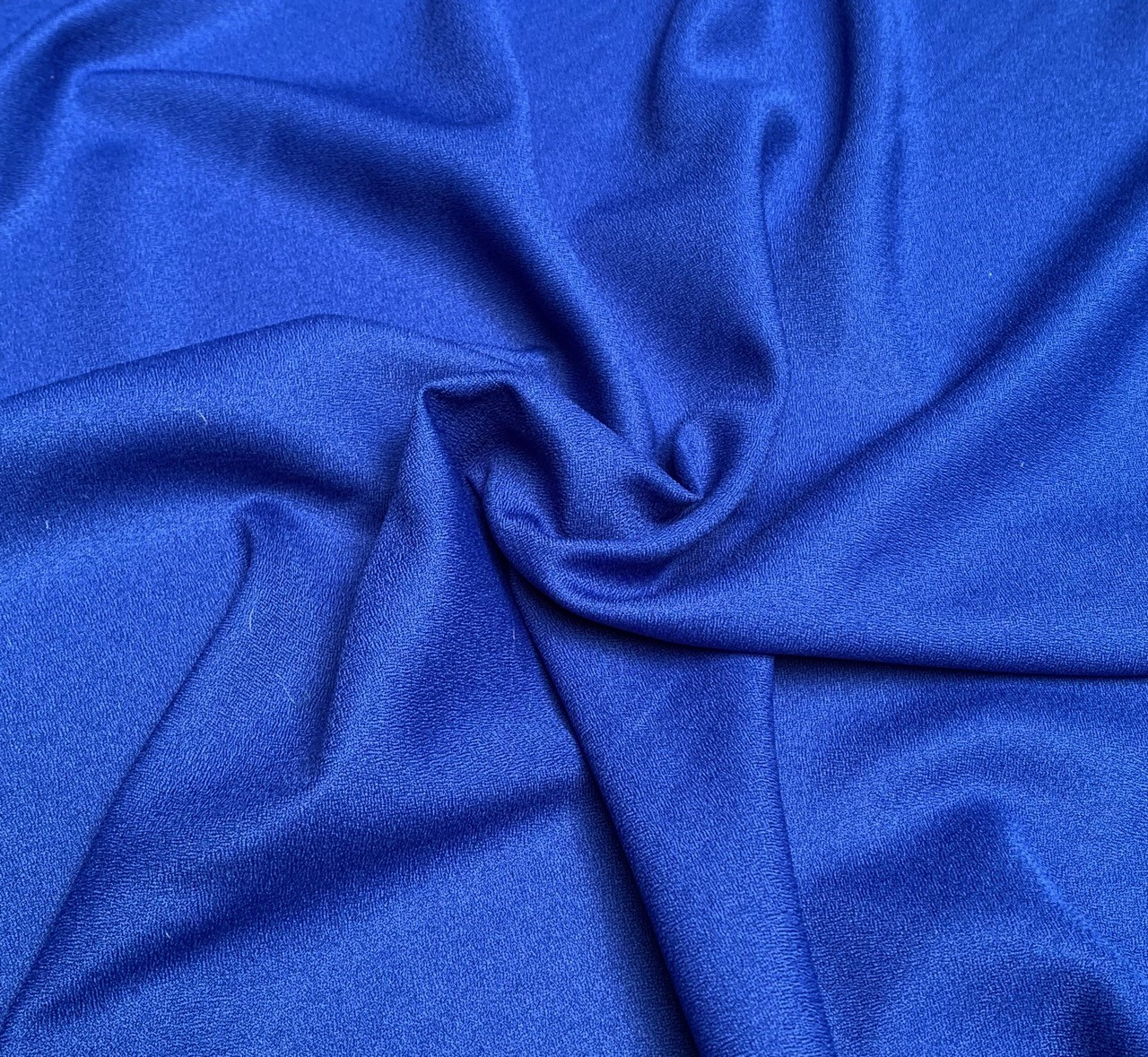"Royal Crepe Fabric - 60"" by the yard (100% polyester)"