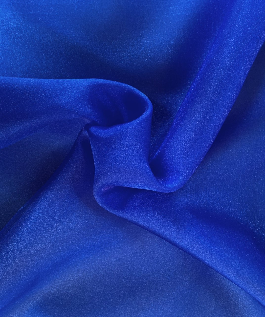 "45"" Royal Sparkle Organza Fabric - 100% Nylon (per Yard) - Click Image to Close"