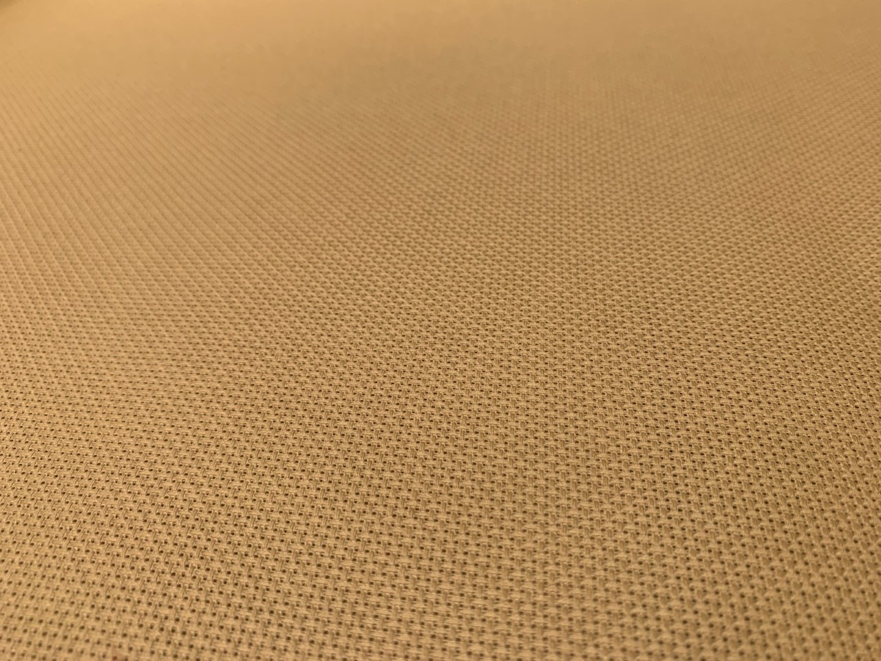 "14 Count Aida Cloth - Tan 60"" Wide By The Yard"