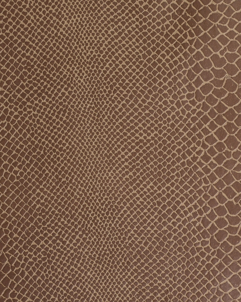 "54"" Tan Lizard Faux Leather Fabric - Per Yard"