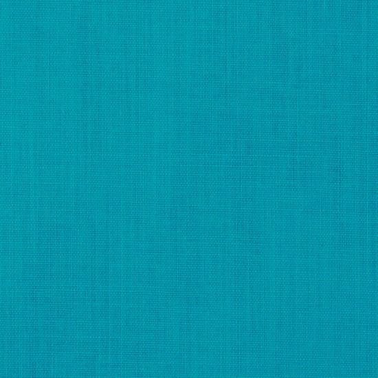 "Turquoise Broadcloth Fabric 45"" - Per Yard"