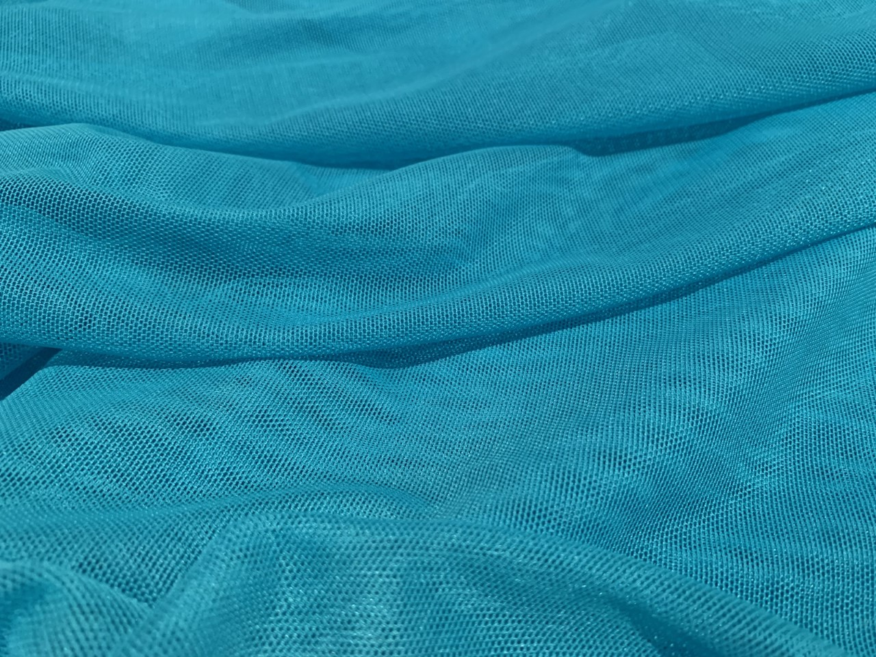 "Turquoise Duck Canvas Cloth - 60""By The Yard - Click Image to Close"