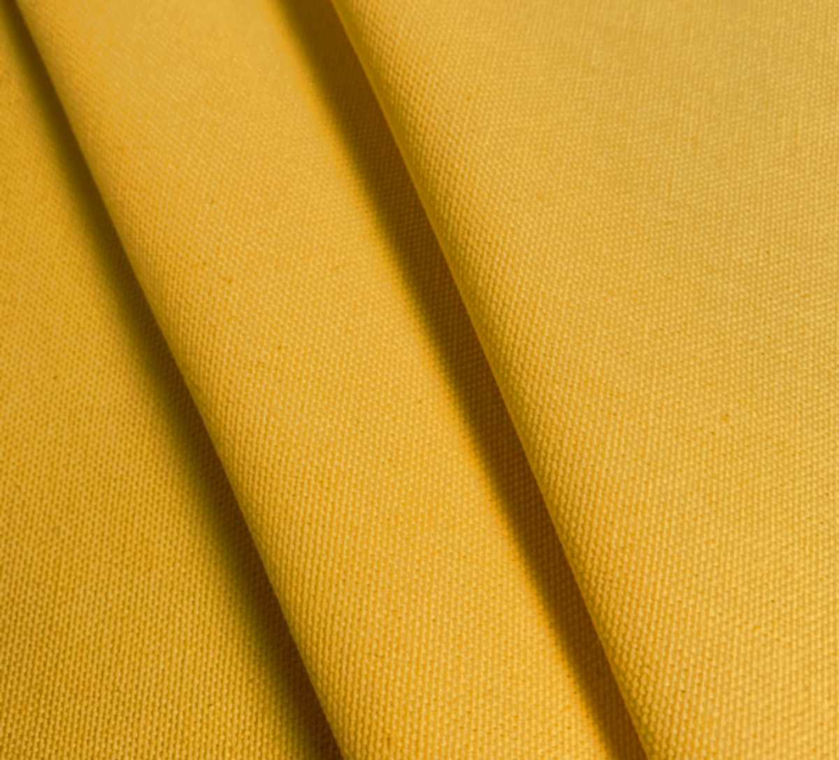 "Yellow Duck Cloth - 60"" By The Yard"